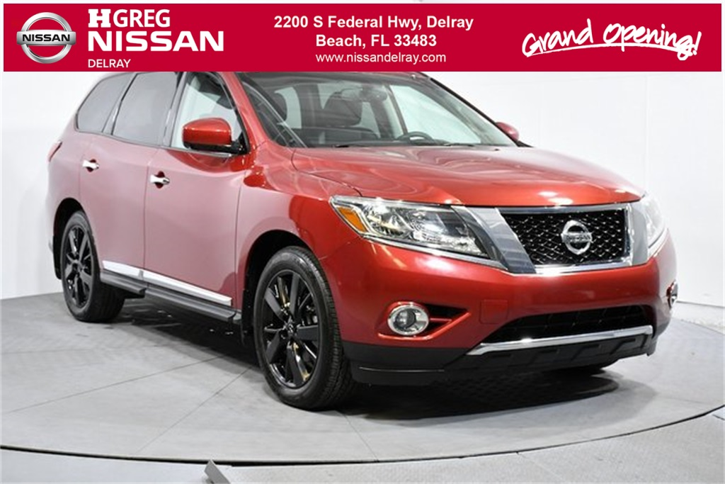 Pre Owned 2016 Nissan Pathfinder Platinum