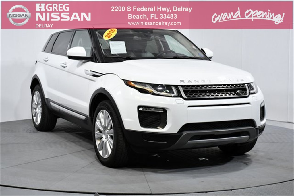 Pre Owned 2016 Land Rover Range Evoque Hse